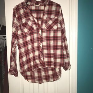 Tops - Red, white, & blue flannel!